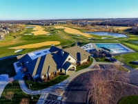 Creekmoor - Aerial view of Clubhouse, Pool & Tennis